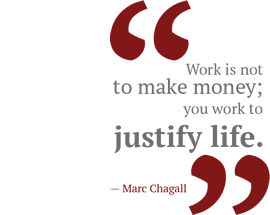 Marc Shagall quote